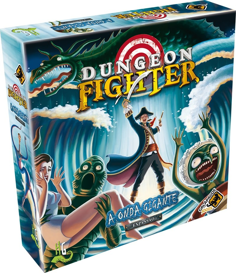 Dungeon Fighter A Onda Gigante Galapagos DUF004  - Place Games