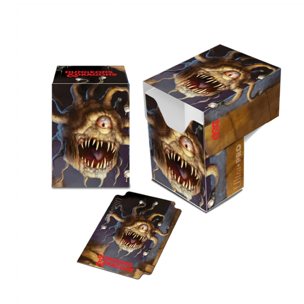 Dungeons & Dragons Beholder Full-View Deck Box Acessório RPG Galápagos DND604  - Place Games