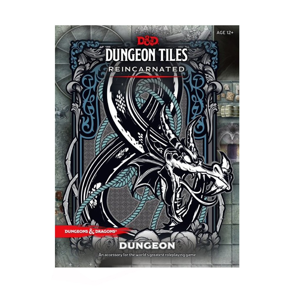 Dungeons & Dragons Dungeon Tiles Reincarnated The Dungeon Acessório RPG Galápagos DND223  - Place Games