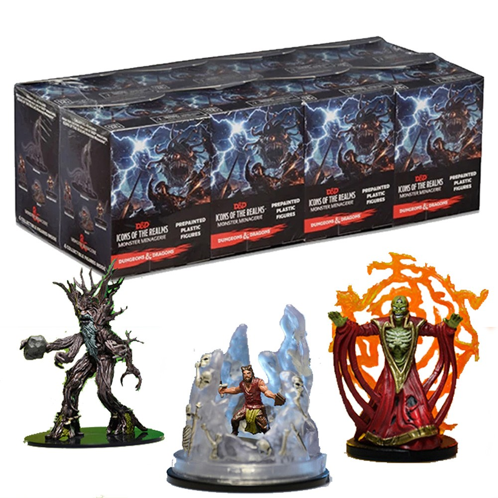 Dungeons & Dragons Icons of the Realms Monster Menagerie Acessório RPG Galápagos DND651  - Place Games