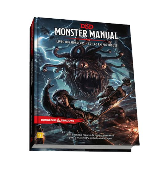 Dungeons & Dragons Monster Manual Livro de RPG Galápagos DND002  - Place Games