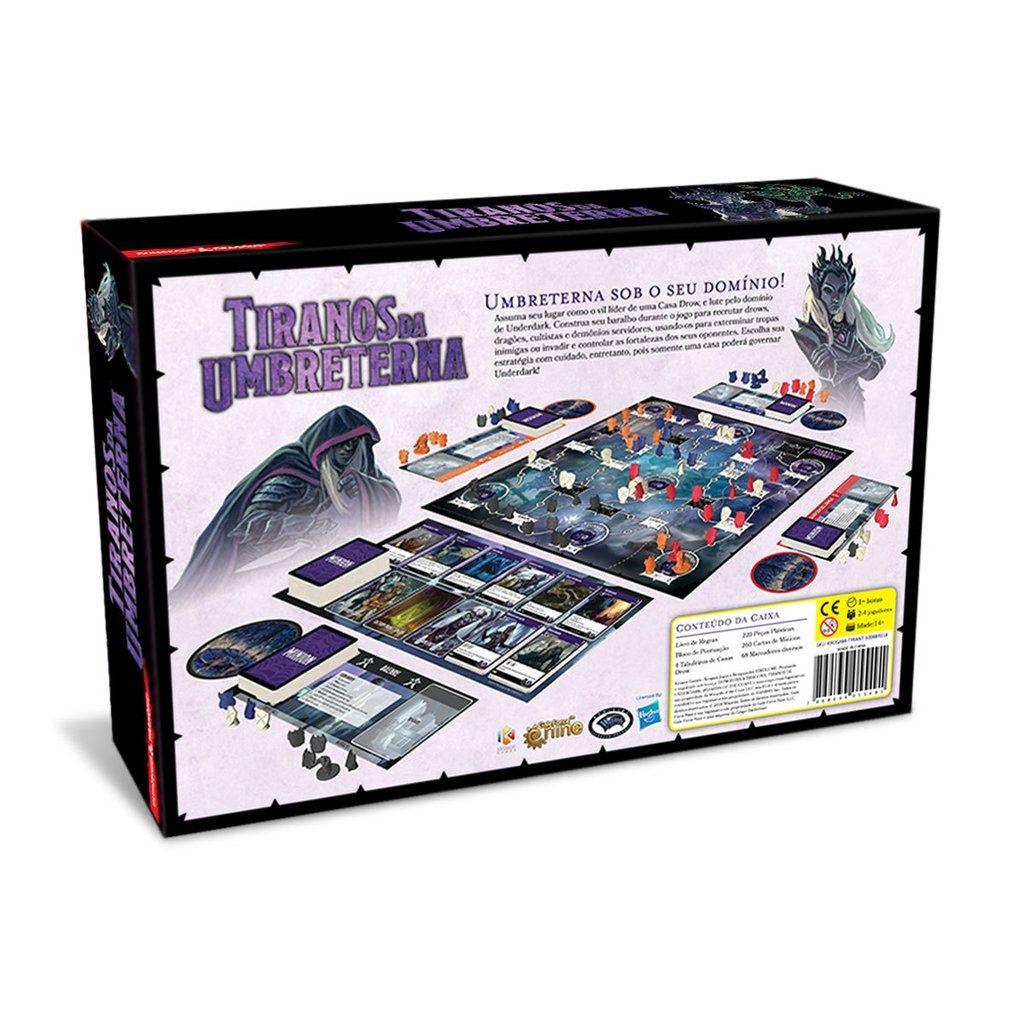 Dungeons & Dragons Tiranos da Umbreterna Jogo de Tabuleiro Kronos Games  - Place Games
