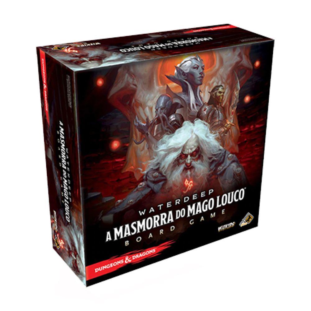 Dungeons & Dragons Waterdeep A Masmorra do Mago Louco Jogo de Tabuleiro Galápagos DND301  - Place Games
