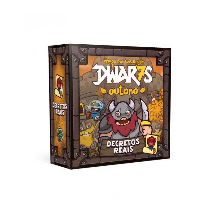 Dwar7s Outono Decretos Reais Expansão Mandala MDL0012  - Place Games