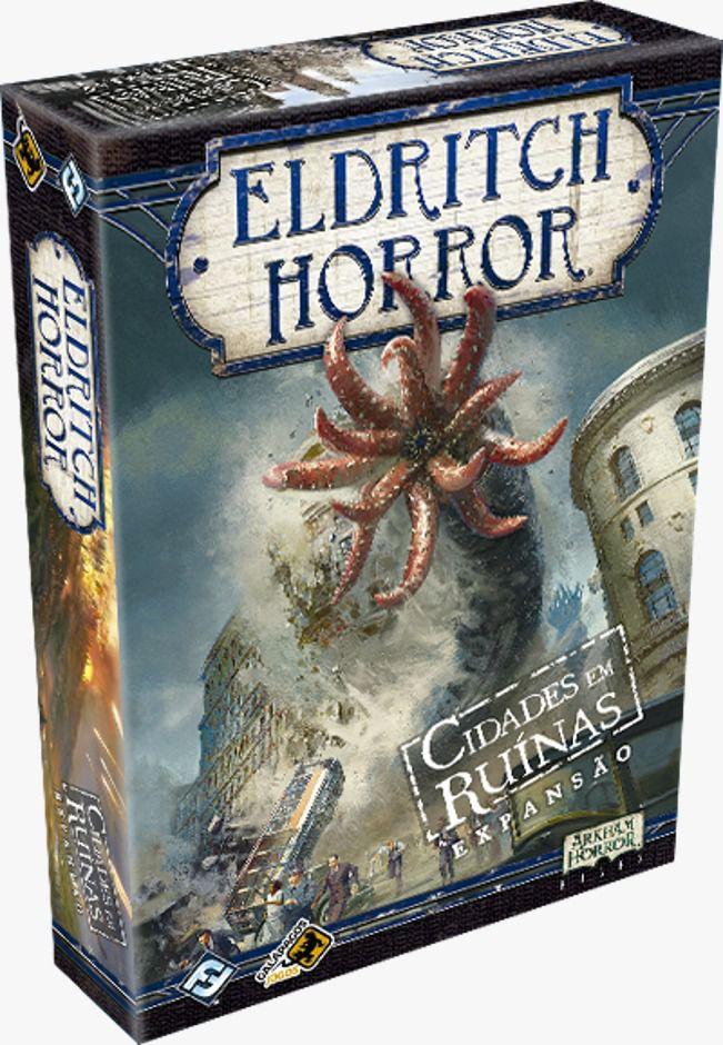 Eldritch Horror Cidades em Ruínas Expansão Galapagos EHR008  - Place Games