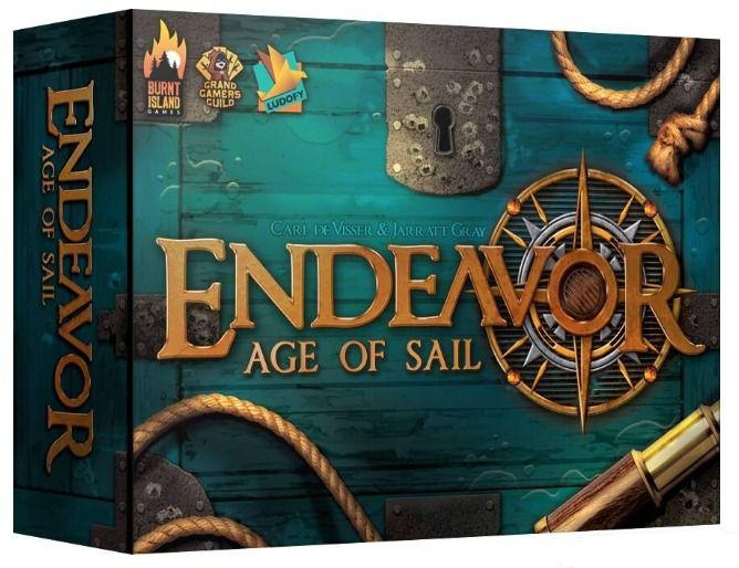 Endeavor Age of Sail Jogo de Tabuleiro Ludofy   - Place Games