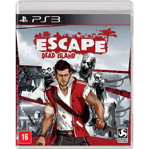Escape Dead Island Playstation 3 Original Lacrado  - Place Games