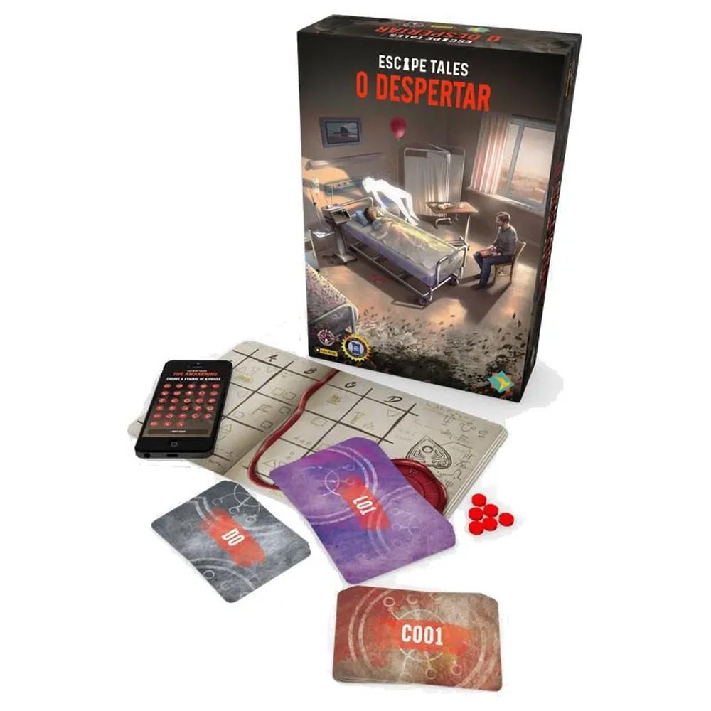 Escape Tales: O Despertar Jogo de Tabuleiro Ludofy GRK0013  - Place Games