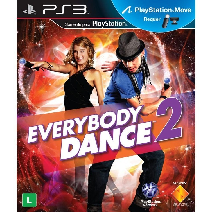 Everybody Dance 2 Playstation 3 Original Usado  - Place Games