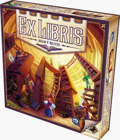 Ex Libris Jogo de Tabuleiro Galapagos EXL001  - Place Games