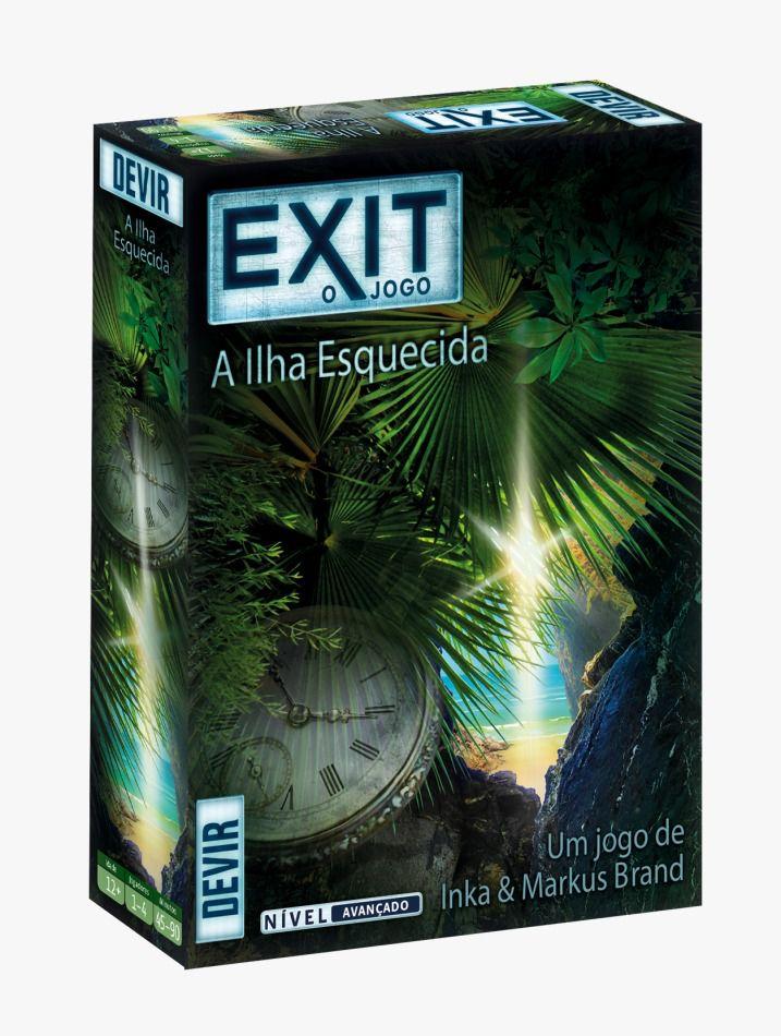 Exit A Ilha Esquecida Jogo de Cartas Devir BGEXIT5PT  - Place Games
