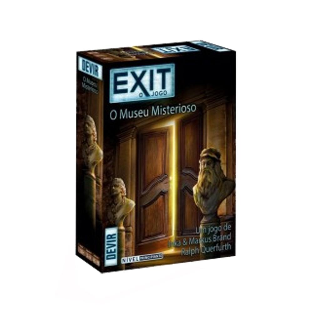 Exit O Museu Misterioso Jogo de Cartas Devir BGEXIT11PT  - Place Games