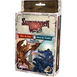 Summoner Wars Expansão Elfos da Fenix Vs Orcs da Tundra Galapagos SUM103  - Place Games