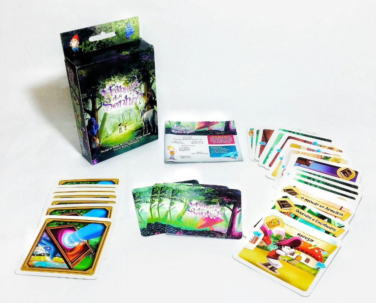 Fabrica dos Sonhos Jogo de Cartas Sherlock SA SHEFDS001  - Place Games