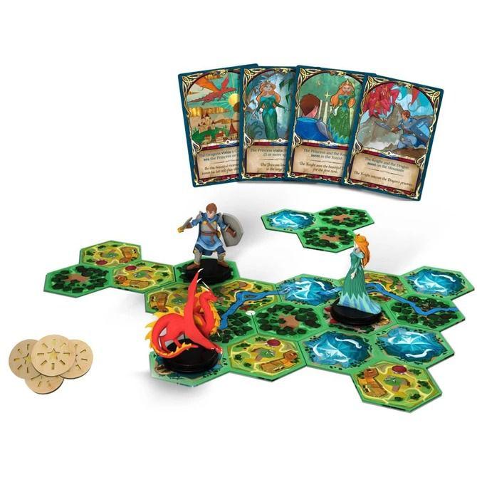 Fairy Tile Jogo de Tabuleiro Conclave  - Place Games