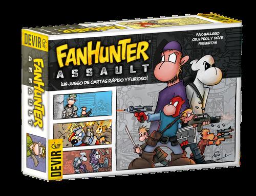 FanHunter Assault Jogo de Cartas Devir BGHASPT  - Place Games