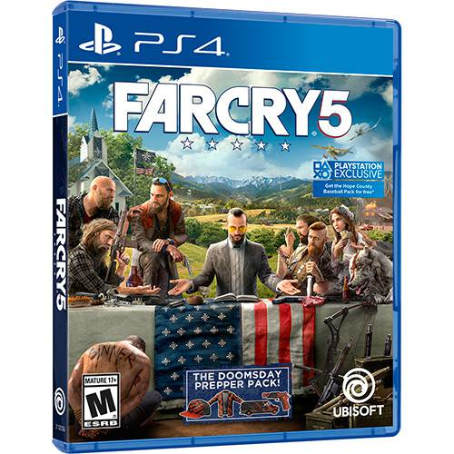 Far Cry 5 Playstation 4 Original Usado  - Place Games