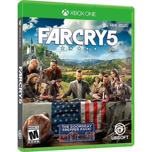 Far Cry 5 Xbox One Original Usado  - Place Games