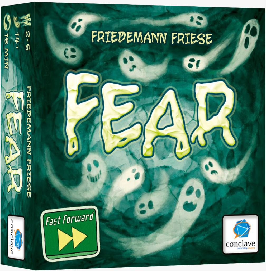 Fast Forward Fear Jogo de Cartas Conclave   - Place Games