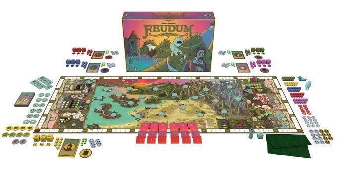 Feudum Jogo de Tabuleiro Ludofy   - Place Games