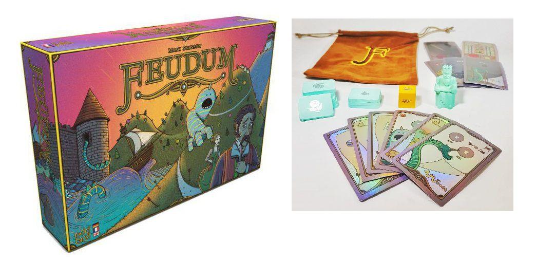 Feudum + Promo Kickstarter Jogo de Tabuleiro Ludofy  - Place Games