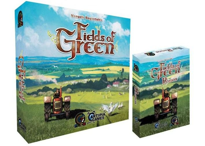 Fields of Green + Expansão Promos Jogo de Tabuleiro Flick Games FGS0001EXP001  - Place Games