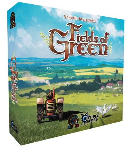Fields of Green Jogo de Tabuleiro Flick Games FGS0001  - Place Games