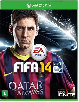 Fifa 14 Xbox One Original Usado  - Place Games