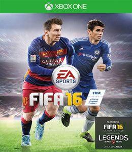 Fifa 16 Xbos ONE Midia Fisica Usado  - Place Games