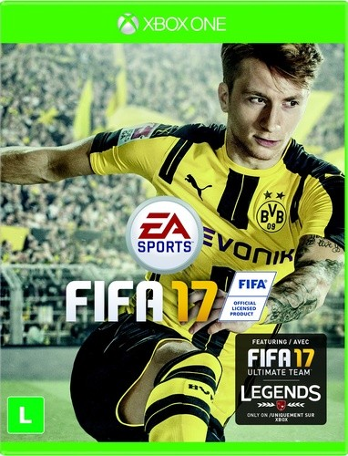 Fifa 17 Xbox One Original Usado  - Place Games