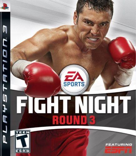 Fight Night Round 3 Playstation 3 Original Usado  - Place Games