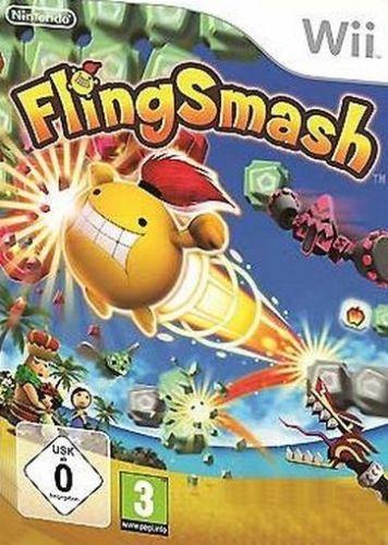 Fling Smash Wii Usado Original  - Place Games
