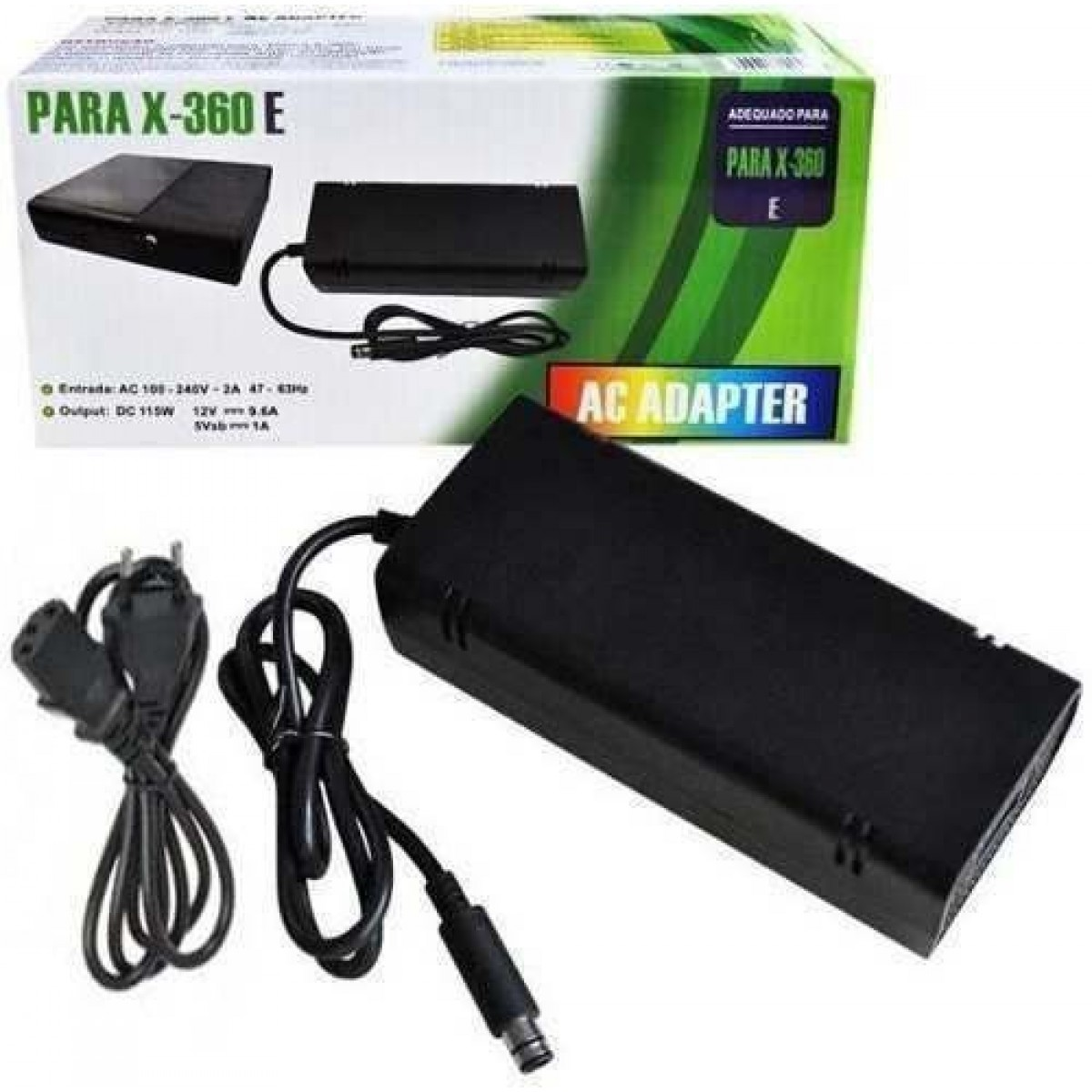 Fonte Xbox 360 Super Slim Bivolt Pronta Entrega  - Place Games