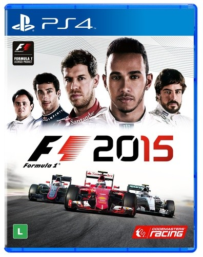 Formula 1 2015 Playstation 4 Original Usado  - Place Games
