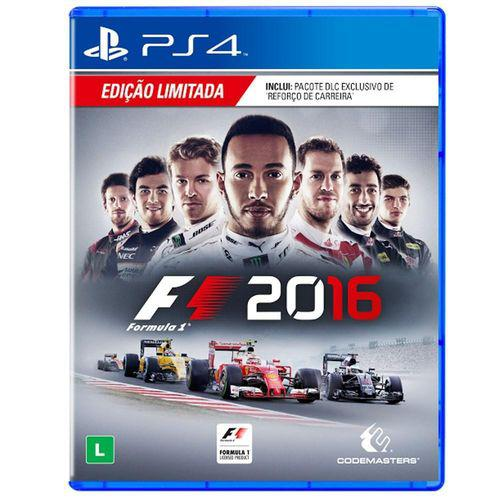 Formula 1 2016 Playstation 4 Original Usado  - Place Games