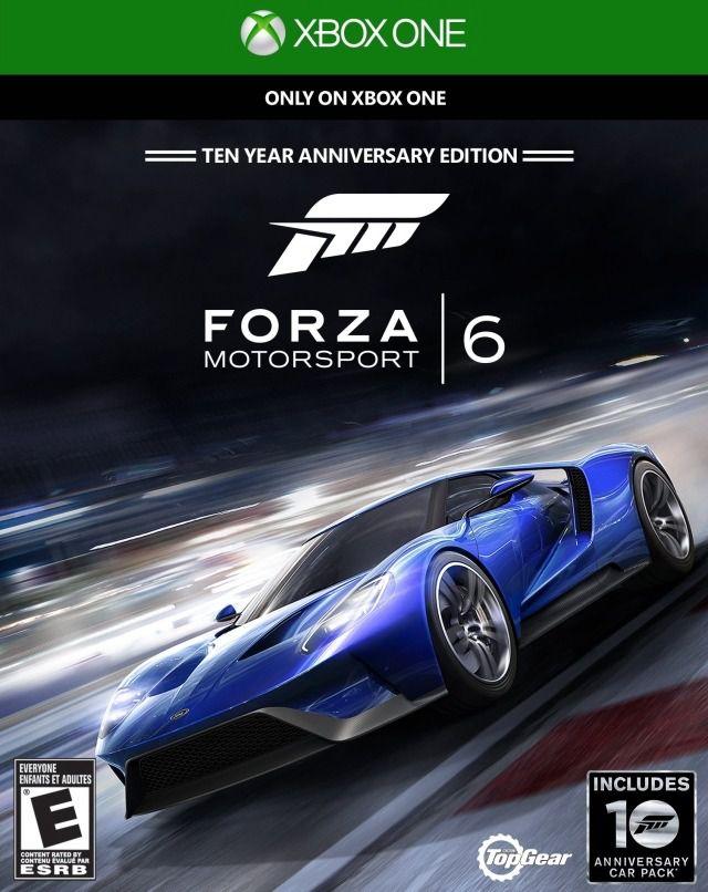 Forza 6 Xbox One Original Lacrado  - Place Games