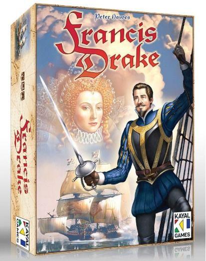 Francis Drake Jogo de Tabuleiro Meeple BR  - Place Games