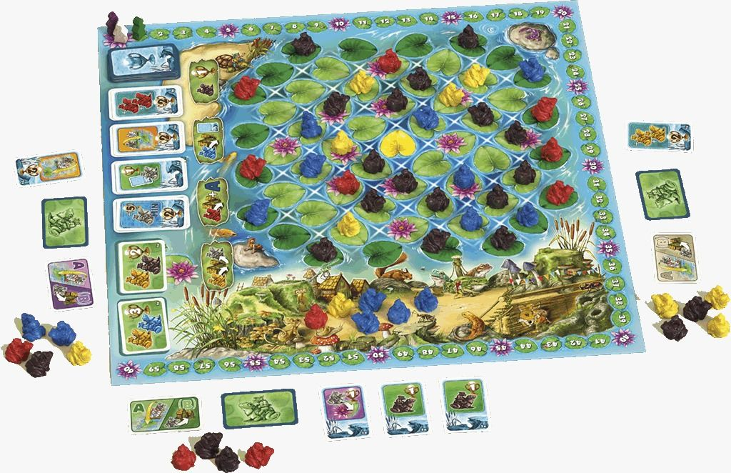 Frogriders Jogo de Tabuleiro Red Box RBX149  - Place Games