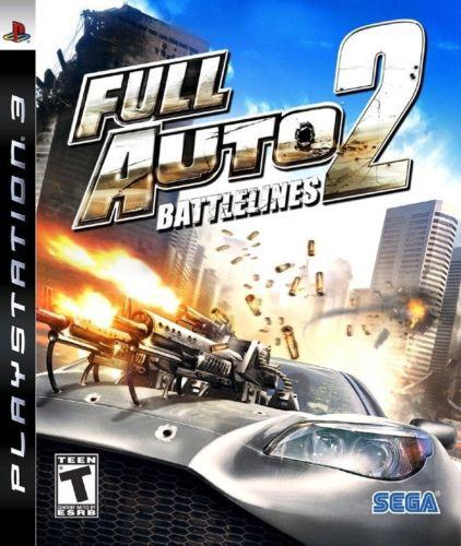 Full Auto 2 Battlelines Playstation 3 Original Usado  - Place Games