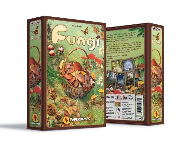 Fungi Jogo de Cartas PaperGames J011  - Place Games