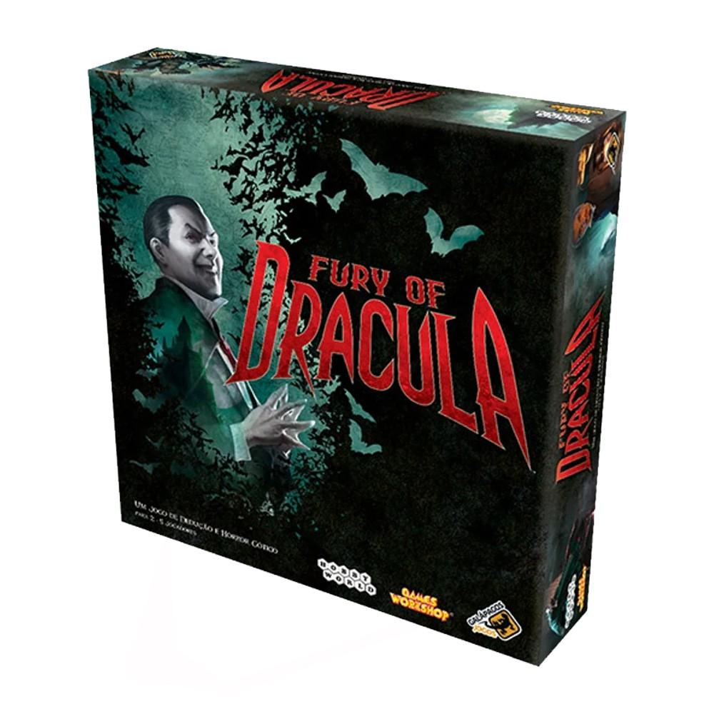 Fury of Dracula Jogo de Tabuleiro Galapagos DRA001  - Place Games