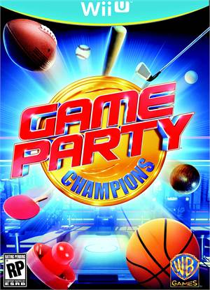 Game Party Champions Wii-U Original Usado  - Place Games