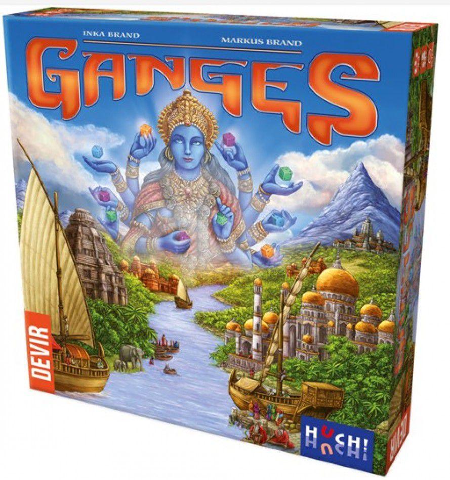 Ganges Jogo de Tabuleiro Devir BGGANG  - Place Games