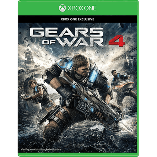 Gears of War 4 Xbox One Original Lacrado  - Place Games