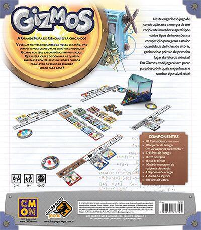 Gizmos Jogo de Tabuleiro Galapagos GIZ001  - Place Games