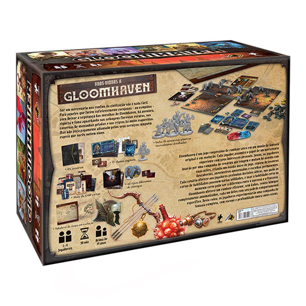 Gloomhaven Jogo de Tabuleiro Galapagos GLH001  - Place Games