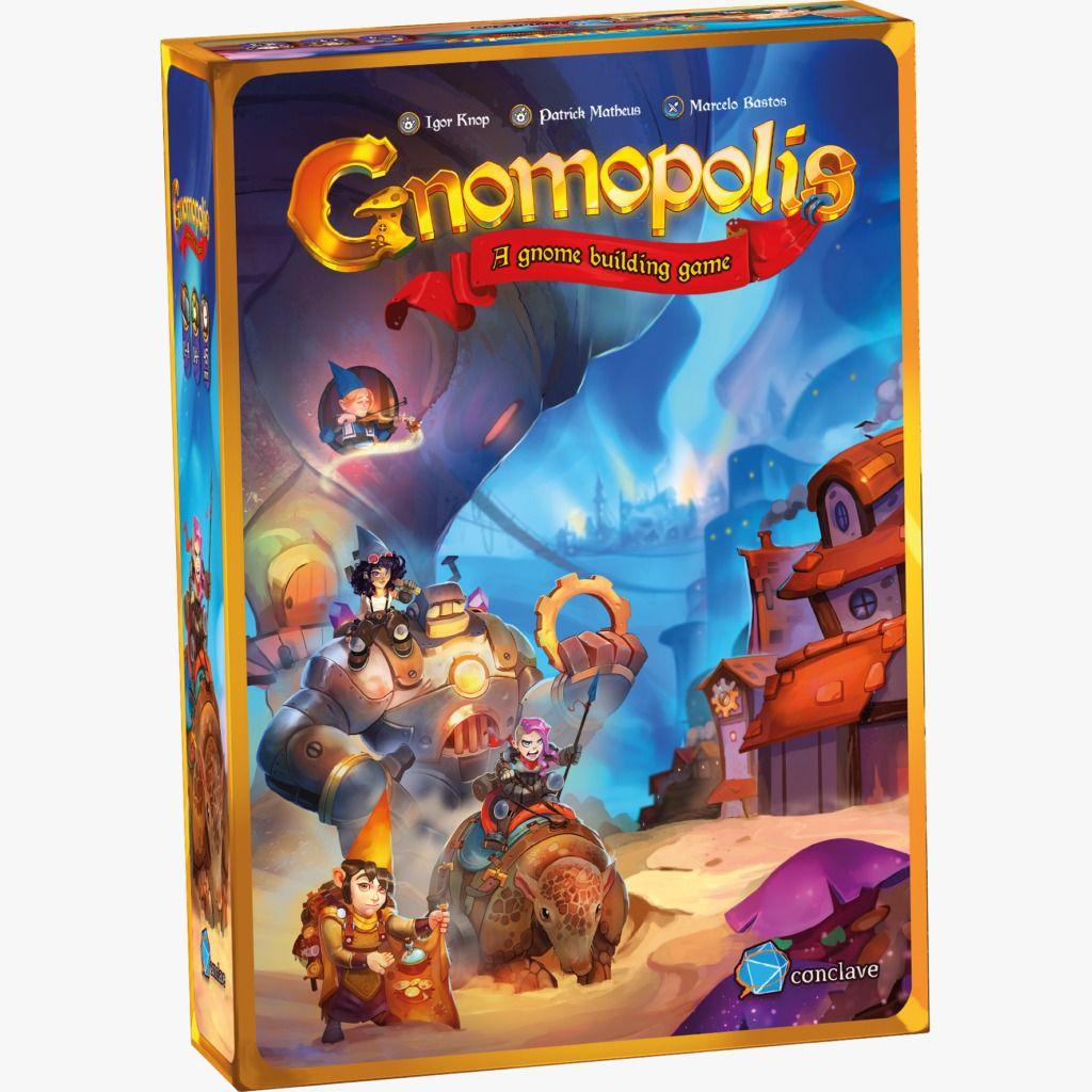 Gnomopolis Jogo de Tabuleiro Conclave   - Place Games
