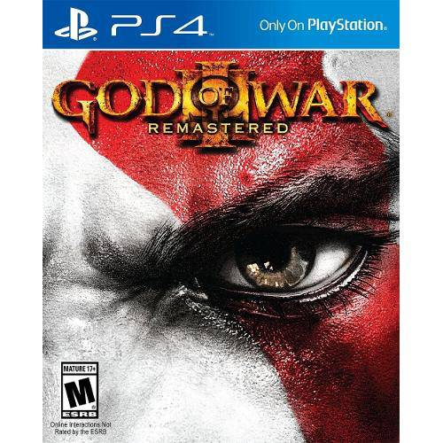 God of War 3 Remasterizado Playstation 4 Original Usado  - Place Games