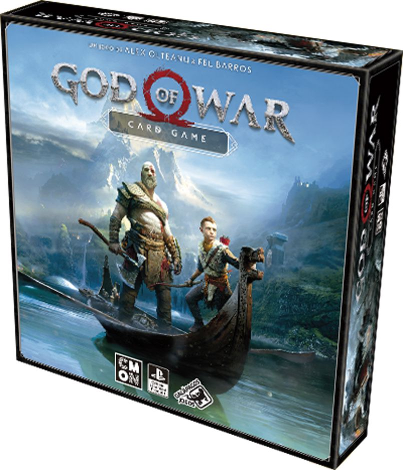 God of War Card Game Galapagos GOW001  - Place Games