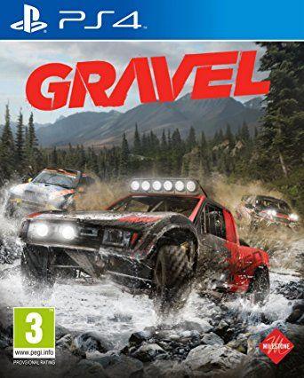 Gravel Playstation 4 Original Lacrado  - Place Games